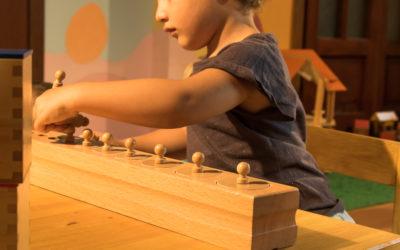 Caratteristiche del materiale sensoriale di sviluppo