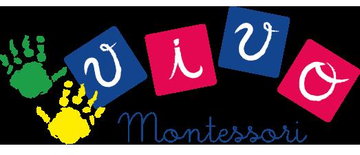 Logo Negativo Vivo Montessori