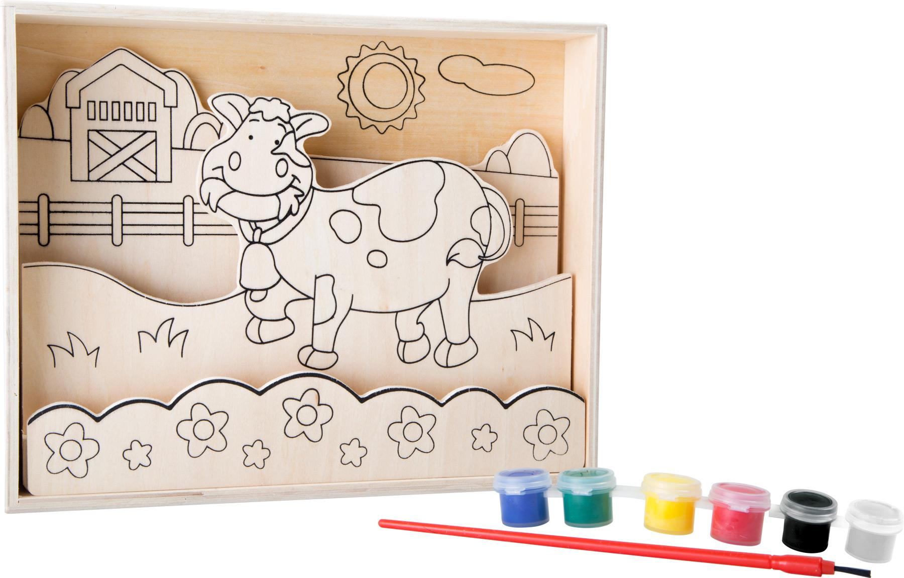 Disegni in legno da colorare fattoria montessori vivo for Piani di fattoria del sud