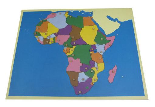 incastro continenti africa vivo montessori