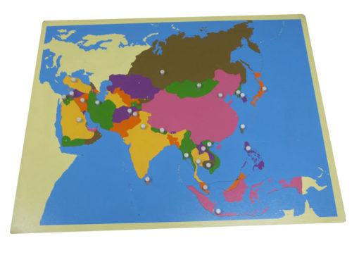 incastri continenti asia vivo montessori