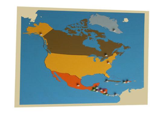 incastro continenti america del nord vivo montessori