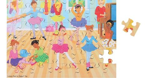 puzzle scuola di ballo vivo montessori