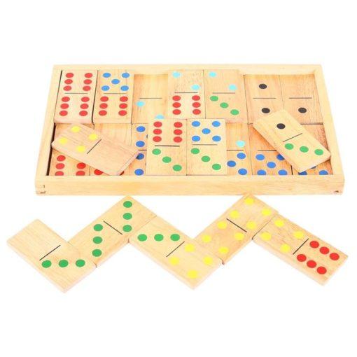 gioco del domino in legno