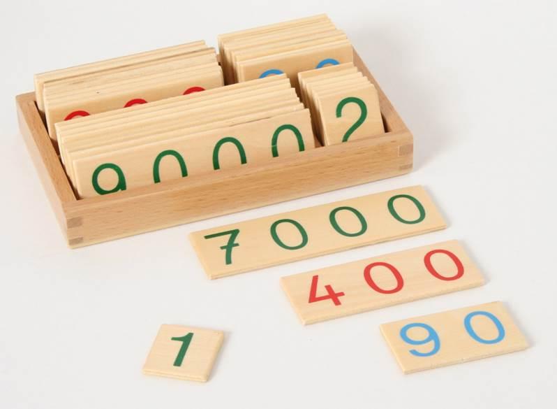 set carte piccolo 1-9000