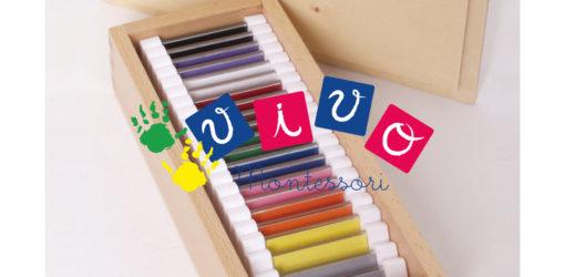 spolette dei colori seconda scatola