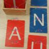 lettere smerigliate artigianali stampatello maiuscolo vivo montessori3