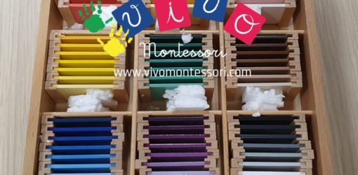 spolette dei colori montessori terza scatola