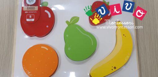 puzzle frutta pezzi grossi