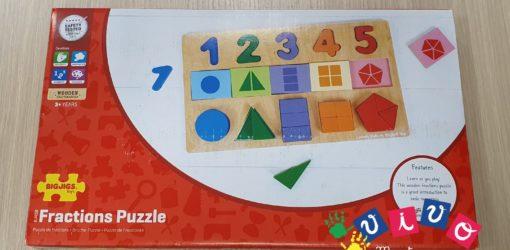puzzle le mie prime frazioni