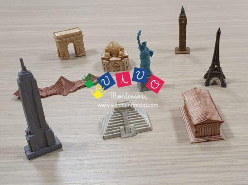miniature monumenti del mondo