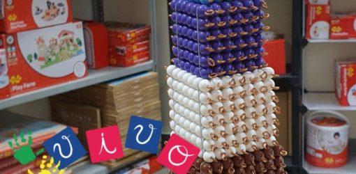 torre dei cubi - perle montessori