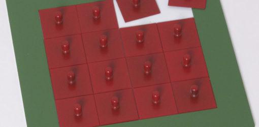incastri delle frazioni - quadrati