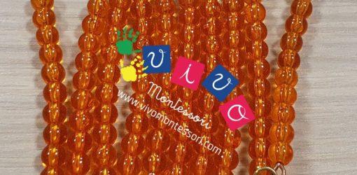 catena del 100 perle arancioni (1)